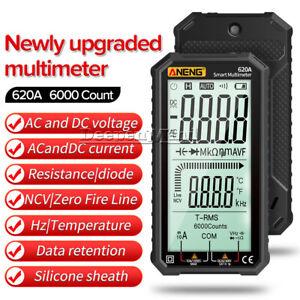 ANENG Digital Multimeter 6000 Count Capacitance Meter Transistor Tester 620A