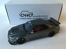 Ottomobile  Nissan GTR R34 Omori Factory Dark grey 1/18 OT232 UVI