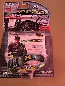 Tony Stewart  #14  Mobil 1 Code 3 Assoc. 2016 Sonoma Winner NASCAR AUTHENTICS