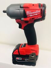 Milwaukee 2852-20 Impact Wrench 3/8 in. Friction Ring + (1) 5.0AH Battery