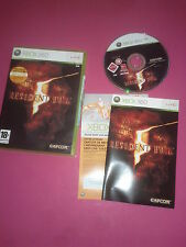 RESIDENT EVIL 5  - XBOX 360 - PAL - complet
