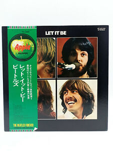LP Record VINILO The Beatles – Let It Be - Apple Records 1974 Japon AP-80189