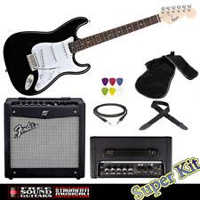 Fender Squier Bullet Chitarra elettrica Amplificatore Mustang 1 V2 Accessori
