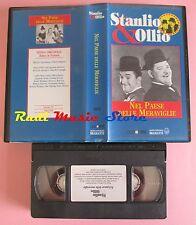 film VHS STANLIO & OLLIO NEL PAESE DELLE MERAVIGLIE VideoRai 1934 (F33*) no dvd