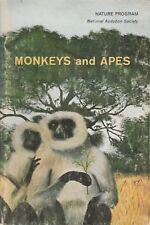 MONKEYS & APES National Audubon Society **GOOD COPY**