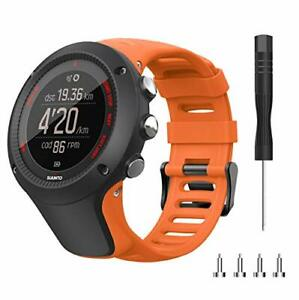 Songsier Bracelet Compatible avec Suunto Ambit 3/1/2/2S/2R/3 Sport/3 Run/3 Peak,