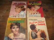 Lot de 4 Livres de poche Collection LE ROMAN COMPLET n° 98, 143, 148 et 169