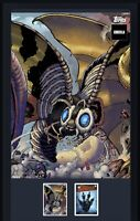 Godzilla Topps NFT Series 1 Super Rare Color Mural Mothra Mint #133/428