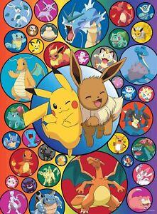Buffalo Games - Pokemon - Pokemon Bubbles - 1000 Piece Jigsaw Puzzle