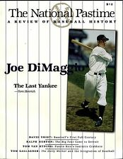 SABR Baseball Research: 1999 NATIONAL PASTIME #19 ~ Society for American 116 pgs