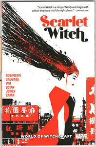 Scarlet Witch vol 2 World of Witchcraft tpb, James Robinson,Tula Lotay, Annie Wu