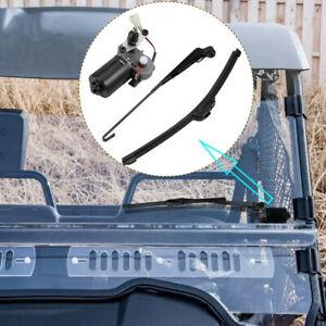 UTV 12V Electric Windshield Wiper Motor Kit forPolaris Ranger RZR 900 Can Am X3