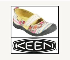 Keen 6M Mixed Print Harvest Scrap Maryjane Outdoor Comfort Walking Shoes