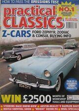 Practical Classics magazine 05/1996 featuring Daimler, Austin Healey, Ford