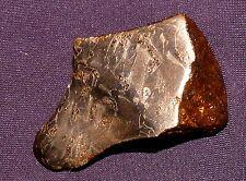 Meteorit Canyon Diablo teilpoliert und geätzt, Arizona, 42x27x16mm 49,7g