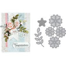 Flowers Leaf Metal Cutting Dies Stencil Scrapbooking Handcrafts DIY Paper Card