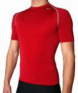 Nike Pro Vent Men's SS Tight Crew Compression Shirt XL
