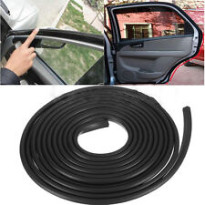 10FT 300cm Black Car Door Rubber Edge Guard Moulding Trim Protector Strip DIY ES