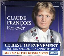 Claude François : For Ever - Best of - 3CD