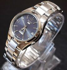 SEIKO 5 SNK621K1 Stainless Steel Band Automatic Men's Grey Watch 100% New & Gift