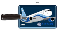 Großer Airbus A320 Kofferanhänger / Luggage Tag