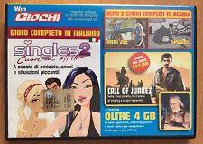 DVD WIN MAGAZINE giochi completi per PC SINGLES 2 e altri