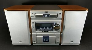 JVC CA-UXP55 Micro Component System CD Tape Radio FM Tested