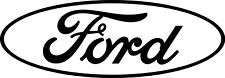Ford Oval Logo Window Hood Tailgate Decal and various colors