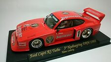 Slot Car Fly A145L Ford Capri Turbo Nurburgring 1982 Compatible 1/32 Scalextric