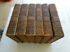 THE WORKS OF SHAKESPEAR IN SIX VOLUMES 1743-1744 : SHAKESPEARE WILLIAM
