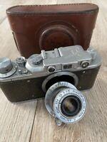 Zorki-1 soviet Leica rangefinder Film Camera  lens industar-22