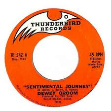 "Dewey Groom - Sentimental Journey - Import - 7"" Record Single"