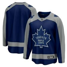 Мужские Торонто Мейпл Лифс королевский 2020/21 специальное издание отсоединяемый хоккейный свитер
