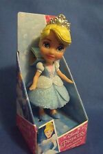 Toys New Disney Princess Mini Toddler Blue Cinderella  Doll 4 inches