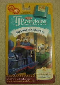 TJ BEARYTALES MY TEENY TINY ADVENTURE book & cartridge  BRAND NEW IN PACKAGE