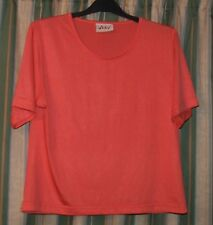 Lovely Blouse Top  Salmon colour size L, by VICKY