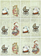 Carta DI RISO NUOVO BAMBINO Decoupage Decopatch Scrapbook Craft sheet vintage