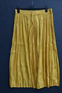 BNWT Gorgeous H&M Ladies Micro Pleat Midi Length Skirt size LARGE / UK 14