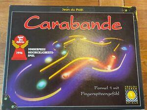 Carabande von Goldsieber Spiel des Jahres 1996 Holzversion Brett Familie
