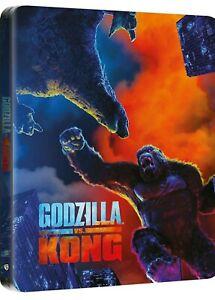 Godzilla Vs Kong - 4K Ultra HD + Blu-Ray Disc Steelbook -  Nuovo Sigillato