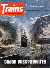 Trains Magazine September 1974 Cajon Pass Revisited