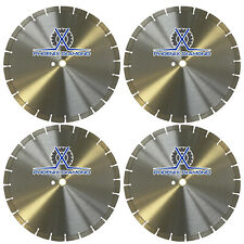 "4Pk 14"" General Purpose Segmented Diamond Saw Blade for Concrete & Masonry"