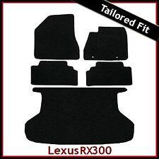 LEXUS RX400 montato su misura moquette auto + Boot MAT (2003 2004 2005... 2008 2009)