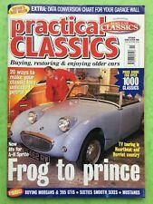 PRACTICAL CLASSICS - October 1998 - Austin Healey Sprite - Rover 3L P5