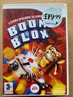 BOOM BLOX ~ Nintendo Wii ~ Steven Spielberg Puzzle Game Videogame Pegi 3
