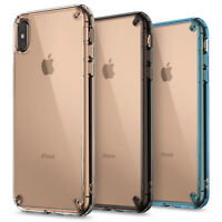 For iPhone XS Max, XR Case | Ringke [FUSION] Clear Shockproof Protective Cover