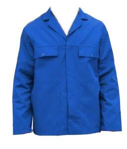 DRIVERS JACKET / WORK JACKET  - ROYAL BLUE - BRITISH WORKWEAR BARGAIN  - JK9