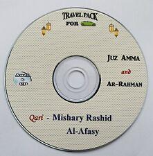 Al Quran Audio CD -by Qari Mishary Rashid al Afasy- Juz Amma & Surah Ar Rahman