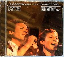 SIMON & GARFUNKEL - CONCERT IN CENTRAL PARK - 2 ALBUMS ON 2 CD -  BMG - SEALED
