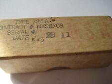 724A Sylvania SPARK GAP VACUUM TUBE - NOS NEW IN BOX- USA- Navy Stock 1943